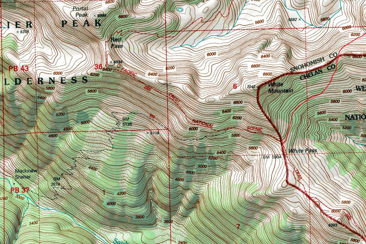 white mountain topographic map  photos diagrams  topos  summitpost - white mountain topographic map