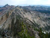 Tango ridge to Cabin Creek Peak