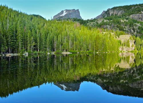 Hallett Peak from Bear Lake