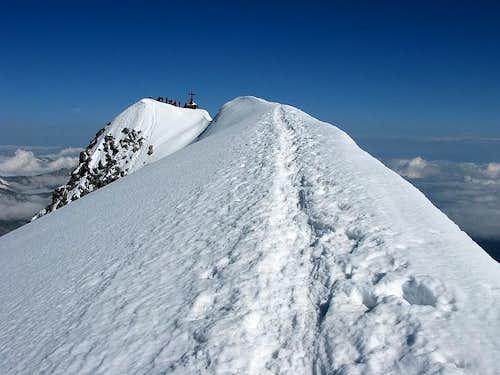 Grossvenediger summit ridge (3.662 mtrs)