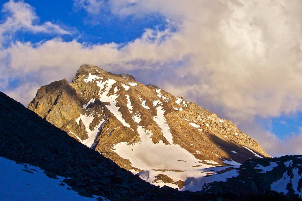 Mount Agassiz from our campsite