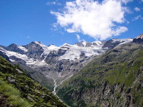 View of the Ghiacciaio della...