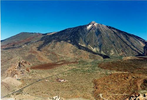 The Teide from Guajara's...