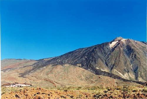 The Teide in Las Cañadas from...
