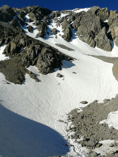 North Face Route July 2011