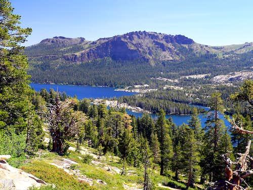 Thunder Mountain over Silver Lake