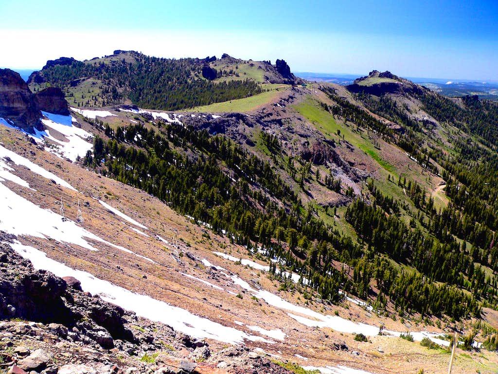 Thunder Mountain and Martin Point