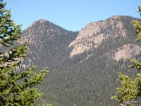 Mount Big Chief from Knights Peak