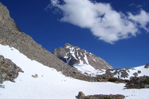 Mount Agassiz from the trail