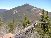 Mount Rosa from Knights Peak