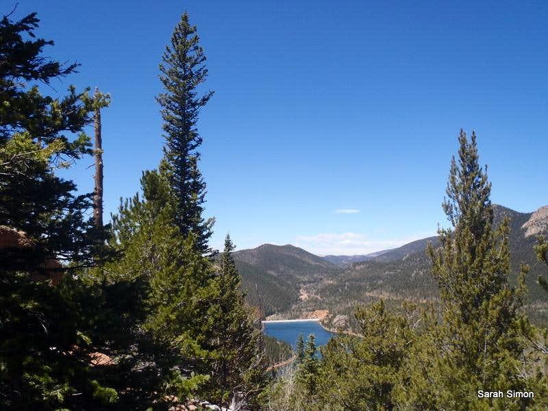 Rosemont Reservoir from Knights Peak