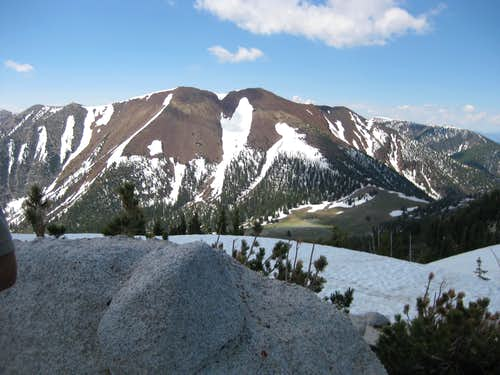 Red Mountain from below subpeak