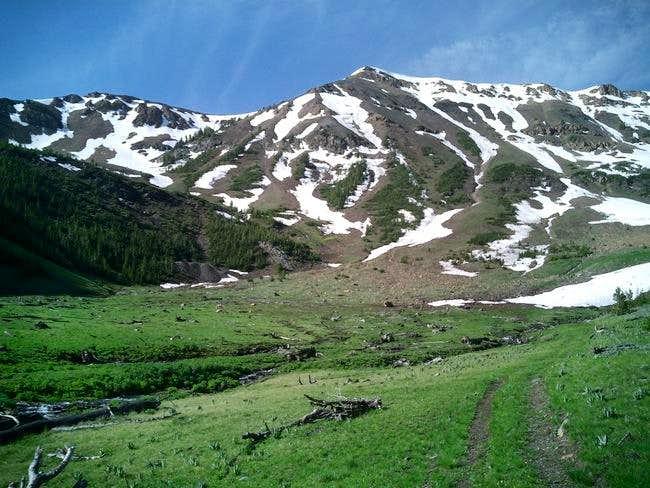 Phi Kappa Mountain in early...