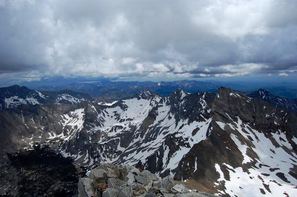 Hyndman Peak, Idaho, summit