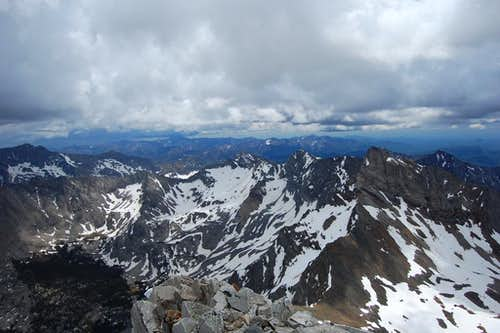 Hyndman Peak, Idaho, summit