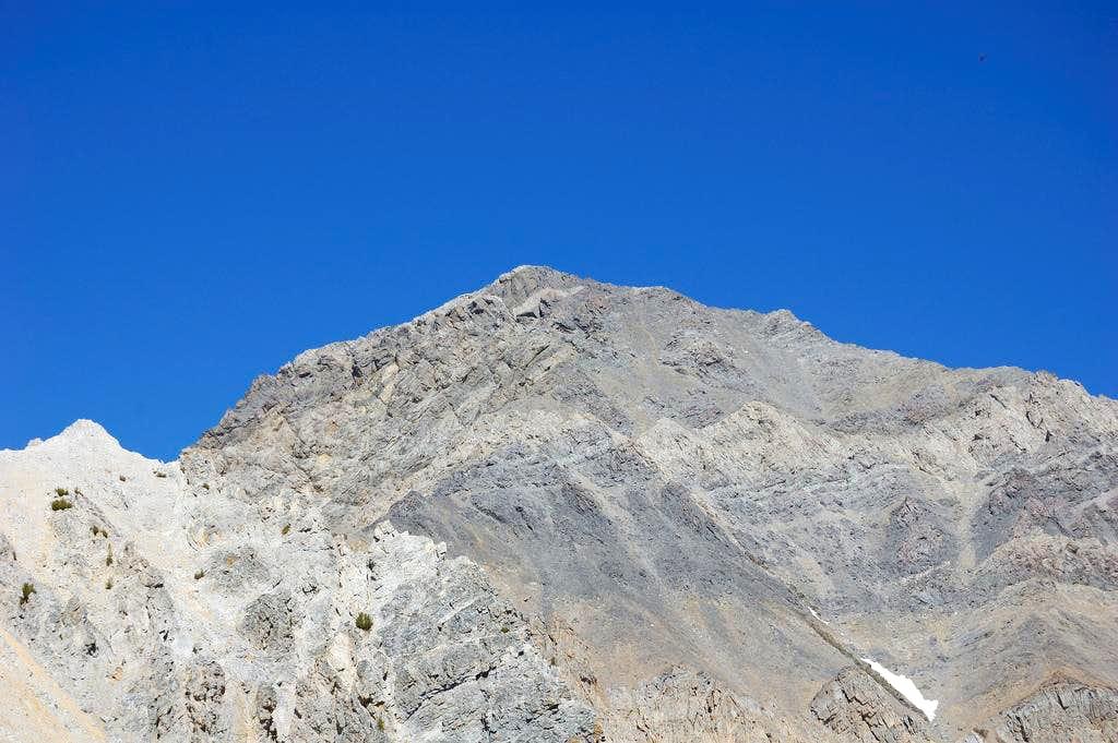 Face of Mount Idaho, Idaho