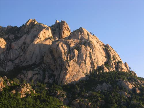 Teghie Lisce, Bavella Range, Corsica