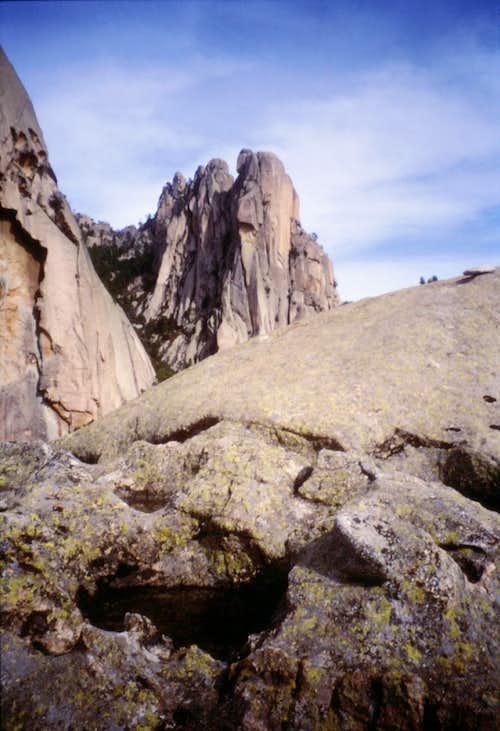 Teghie Lisce summit, Bavella Range, Corsica