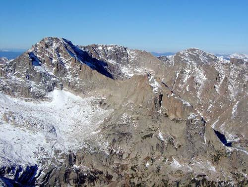 McHenrys Peak and Arrowhead...