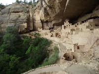 Cliff Palace Side View