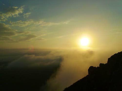 Bishop Peak Sunset
