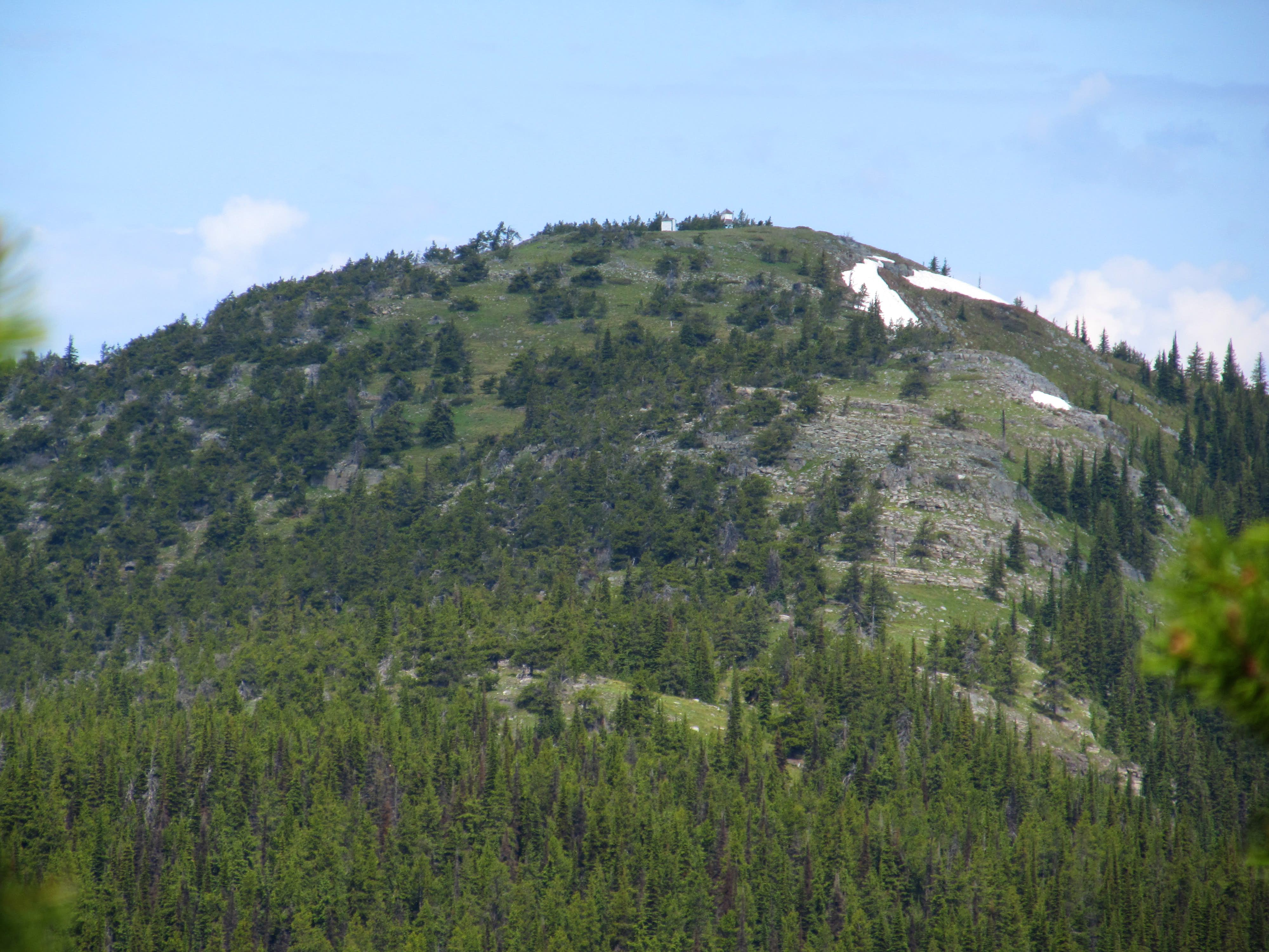 McGuire Mountain and Lookout