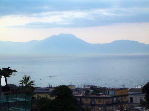 Monte Faito seen from Napoli....