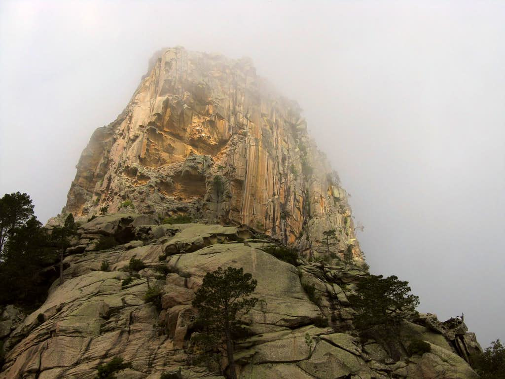 Punta Rossa main summit and SE Spur, Bavella