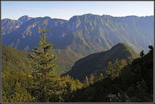 Monte Lavara and Monte Cadin