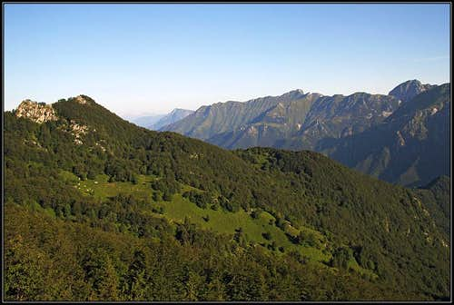 On the northern slopes of Monte Postoucicco/Postovcic