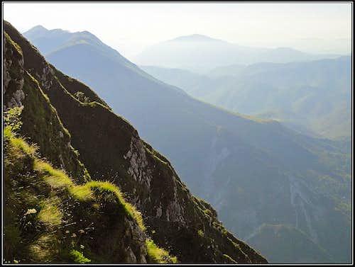 On the E ridge of Postoucicco/Postovcic