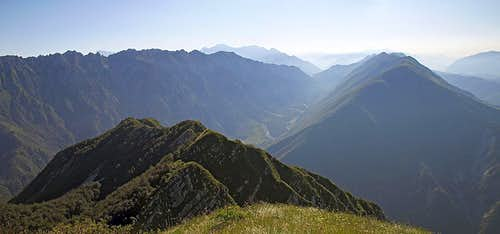 Monte Postoucicco / Postovcic eastern views