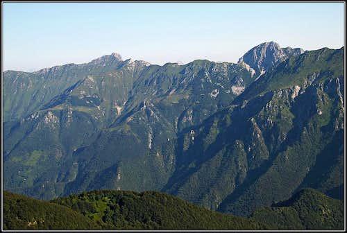 Monte Plauris / Lopic and Monte Lavara / Javor