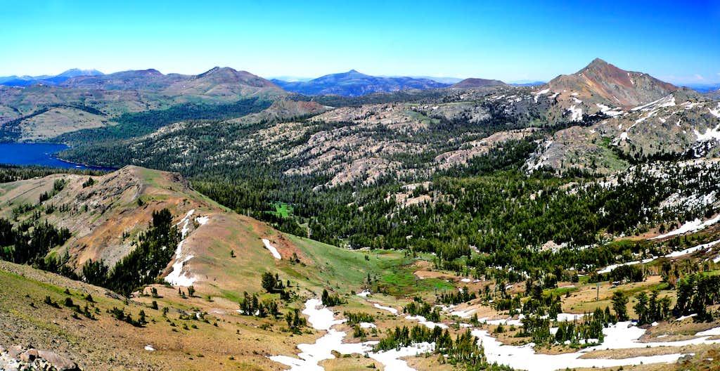 Northeast from Thimble Peak