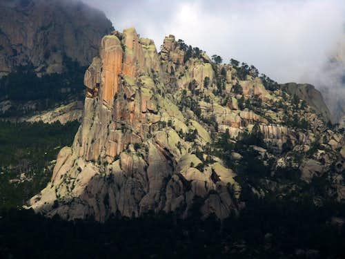 Punta Lunarda, Bavella, Corsica