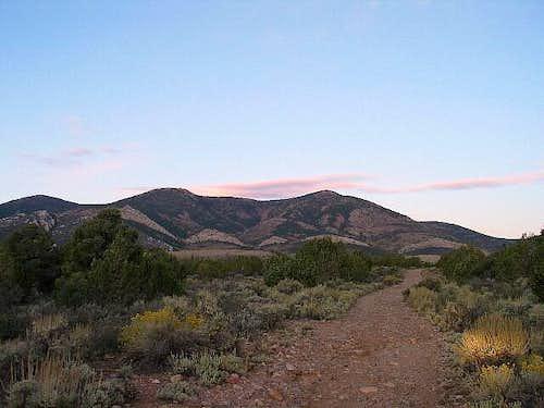 Mt. Grafton, Day six in Nevada