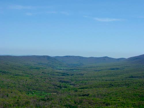 Halfmoon Mountain from Tibbet Knob