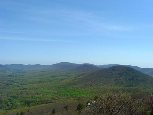 Looking North from Tibbet Knob