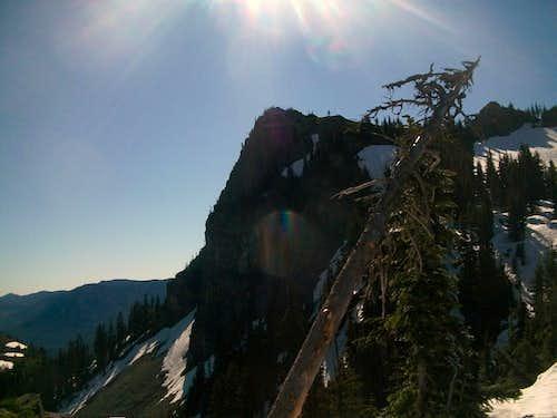 The Sharp North Cliff