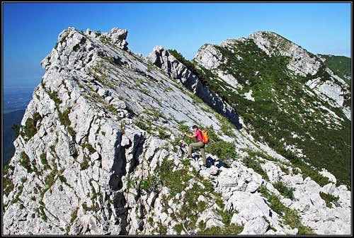 Slanted slabs on Monte Postoucicco / Postovcic