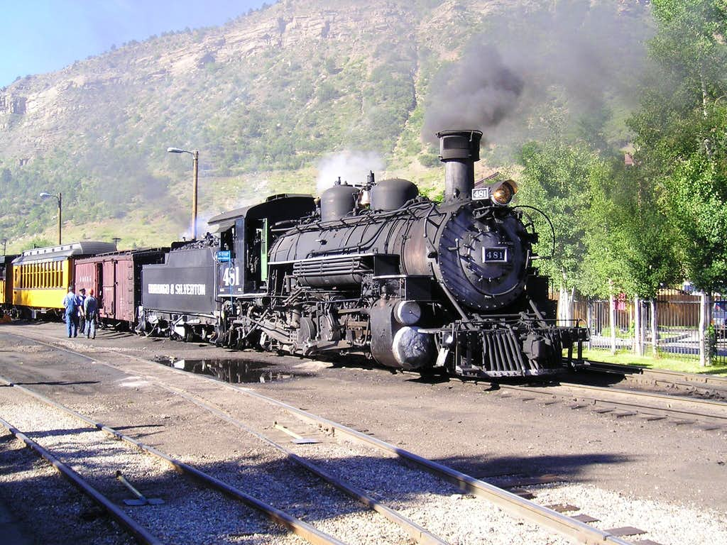 Durango & Silverton RR number 481