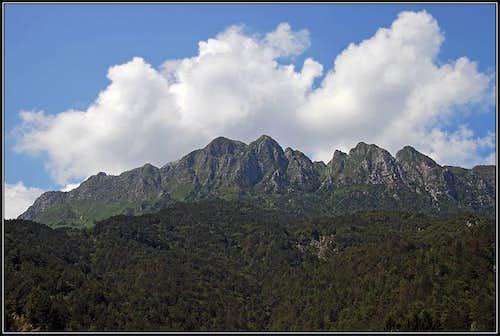 Monte Postoucicco / Postovcic from the S