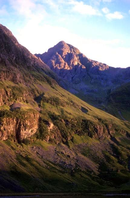 Stob Coire nam Beith from the...