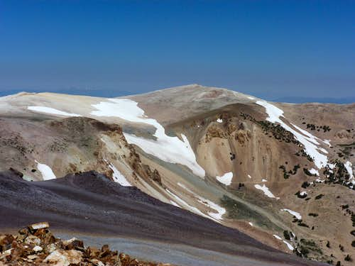 Mount Patterson seen from the summit of Wheeler Peak