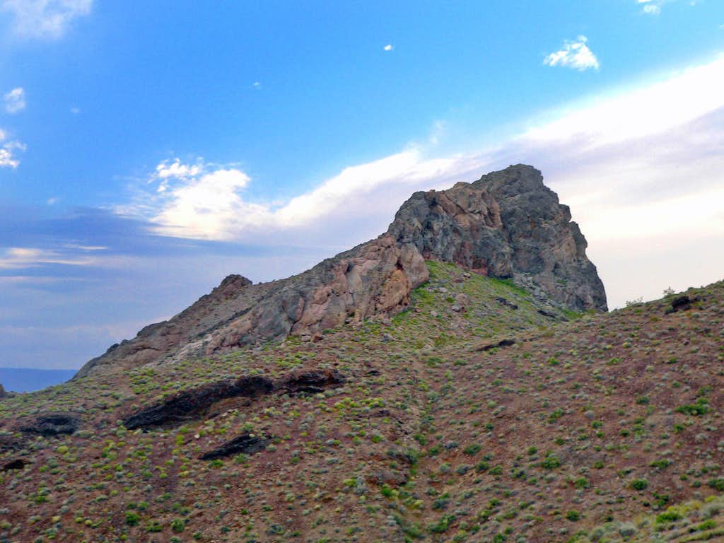 Daylight Butte from the east
