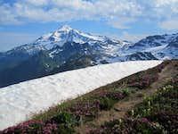 Glacier Peak from White Mountain