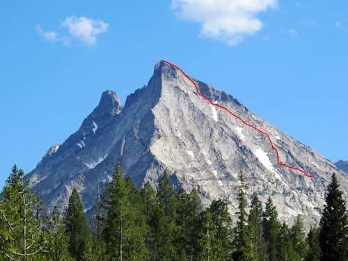 Mustang Peak- NW Face Climb