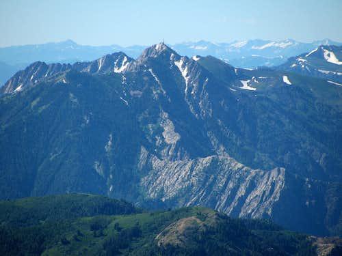 Snowbasin Peaks