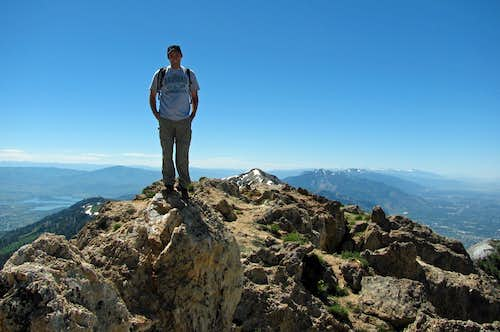 Willard Peak summit pic