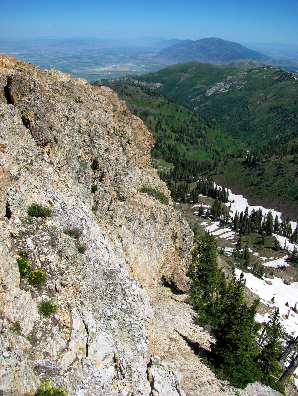 Willard Peak east face